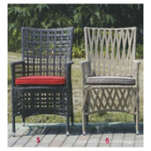 Popular Patio Waterproof aluminum frame rattan chair