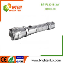 Fabrik-Massen-Verkauf 3.7V Multifunktions-Aluminium-Legierung Material Taktische Hochleistungs-wiederaufladbare 3w cree q3 / q5 LED-Taschenlampe