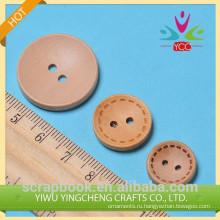2014 рекламных DIY круглые деревянные кнопку