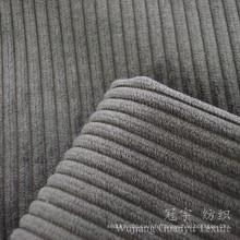 Polyester coupé de pile et tissu en velours côtelé en nylon pour le sofa
