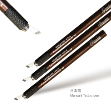 Eyebrow Manual Tattoo Pen with Needle Blade
