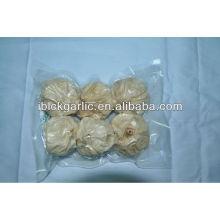 6 piezas Paquete Ajo Negro 100% Natural