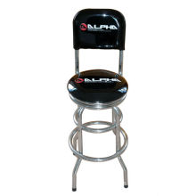 unique iron bar stool with backrest