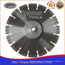 Lame de scie laser à diamant de diamant 230 mm: Lames segmentées Turbo