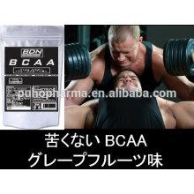Лучший порошок порошка bcaa / порошок bcaa 2: 1: 1 GMP, ISO