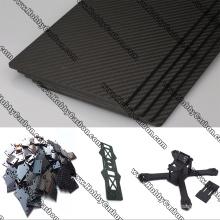 CNC geschnittene Carbonfaserplatte / Blech / Platte