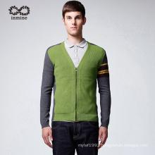 Manufactory Fashion Striped Knitwear Men Cardigan