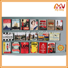 delicate personalized city world fridge magnet for tourist souvenir
