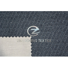 Cross Corduroy Bonded Knitting Fabric for Sofa