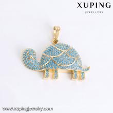 O animal da forma da jóia de 33089 Xuping deu forma ao pendente dos encantos com o ouro chapeado