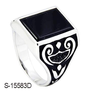 Neuer Entwurfs-925 Sterlingsilber-Mann-Ring