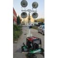 Iso Certificate 2018 New Mobile Solar Light Tower Trailer