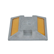 sand filled aluminum reflective road stud