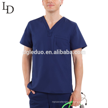 Popular design medical wear clothing uniform for men