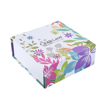 China Factories for Collapsible Paper Packaging Box Cardboard Collapsible Rigid Gift Box export to Russian Federation Importers