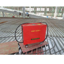 Double gun welding machine for shipping yard concrete bolt weld