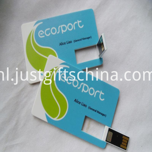 Promotional Plastic Card USB Flash Drive2