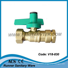 Water Meter Brass Ball Valve (V18-830)