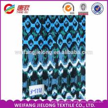 Tissu de viscose bon marché en gros, tissu rayonne imprimé par coutume 100%