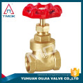 stem gate valve brass material heavy/light type prolong BSP/NPT thread pegler gate valves catalogue