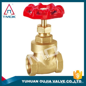 TMOK Pumping rod threaded brass gate valves