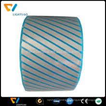 hallo vis Hitzeübertragung reflektierendes segmentiertes PET-Filmlaser-Band-Eisen auf Gewebe / Taschen