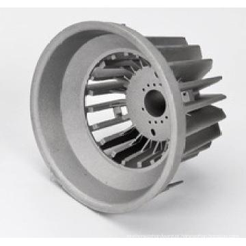 Carcaça de alumínio fundido com diodo emissor de luz LED