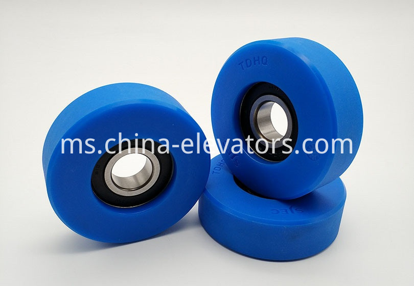 Step Roller for SJEC Escalators 80*25*6204-2RS