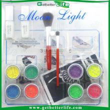 Kit de tatuagem arte corpo profissional Getbetterlife, 8 cores Kit de tatuagem temporária Glitter