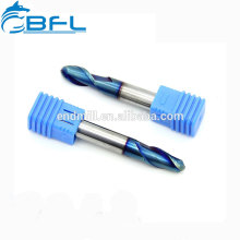 BFL - 2 Flutes Ball Nose Aluminium Mills Cutter/CNC Precision high cutting Tool