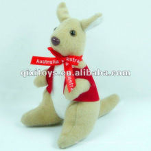 mini brinquedo de canguru recheado e pelúcia