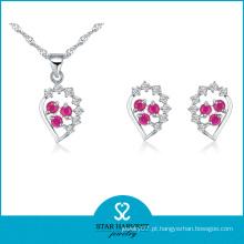 Fantasia de duas cores jóias de pedra set (j-0058)