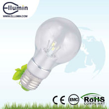 600 lumen led bulb light e27 base