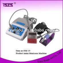 NM-15 Pen Shaped Electric Nail Art Tips Polish Drill File Machine Manicure 6 Bit