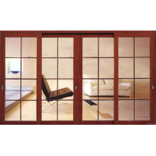 Aluminium Swing Door with Double Glass