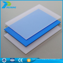 High impact resistance strength 6mm clear polycarbonate sheet