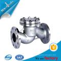 Stahlmaterial Standard-Rückschlagventil in 2 '' 4 '' 6 '' für Wasser Öl und Gas