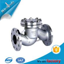 Stainless steel spring type class900 API check valve