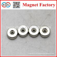 Постоянный потайной отверстия 4 мм магнит ротора