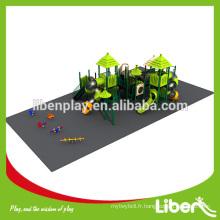 Terrain de jeux extérieur pour enfants 2014, équipement d'aire de jeux extérieur, équipement de terrain de jeu