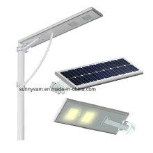 Luz de rua solar integrada do diodo emissor de luz da luz de rua do diodo emissor de luz das energias solares 25watt