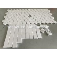 Шестигранные плитки глинозема