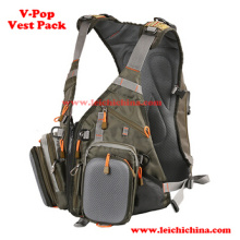 Confortável Fly Fishing V-Pop Fishing Vest Pack