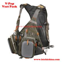 Confortável Fly Fishing V-Pop Fishing Vest Pack