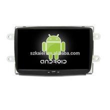 Quatro núcleos! Dvd do carro do Android 6.0 para DUSTER com tela capacitiva de 8 polegadas / GPS / link espelho / DVR / TPMS / OBD2 / WIFI / 4G