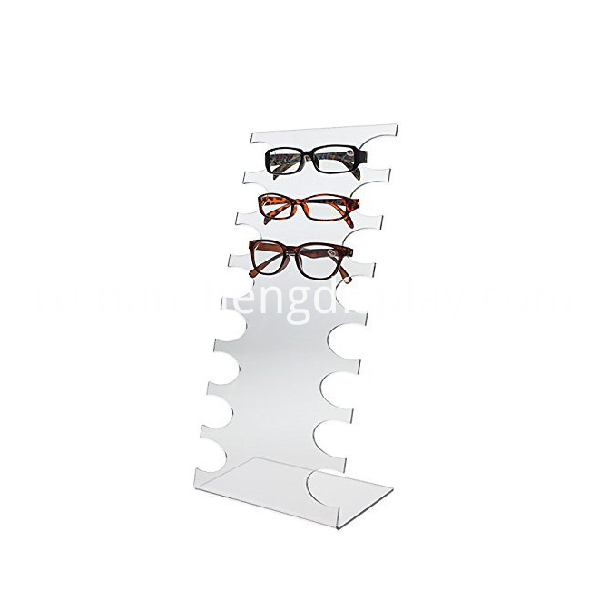 Clear Acrylic Sunglasses Display