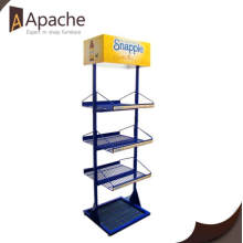 New Fashion Design for Tools Display Shelf Professional Medium Metal Blue Tools Display Stand supply to Nicaragua Exporter