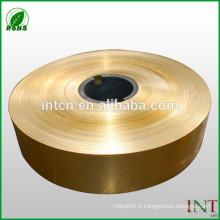 bobine en alliage de cuivre CuZn33 C26800 H68