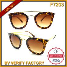 F7203 Última lanzado alta calidad moda Vintage gafas de sol fabricado por las fábricas chinas