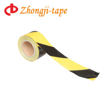 7.5cm yellow and black pe warning tape